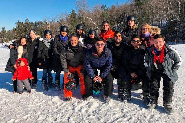 Lab Team (Ski Retreat)